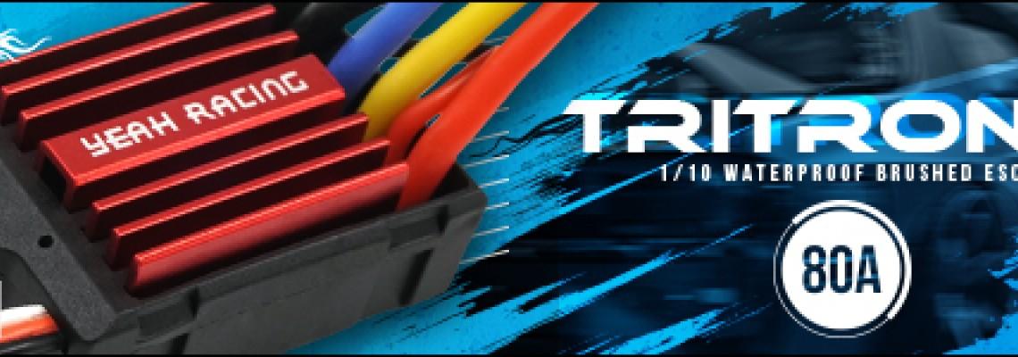 Tritronic 1/10 Waterproof Brushed 80A ESC