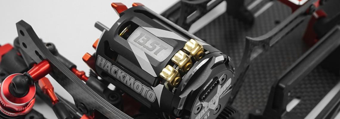 Hackmoto V - 5.5T 540 Brushless Sensored Motor