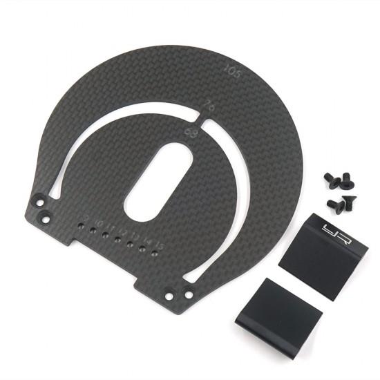 Aluminum & Carbon Wheel Marker For 1:8 On Road RC Car Black