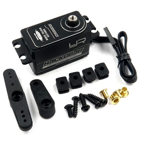 Aluminium Case Low Profile Digital High Speed Coreless Servo For 1/10 RC Black